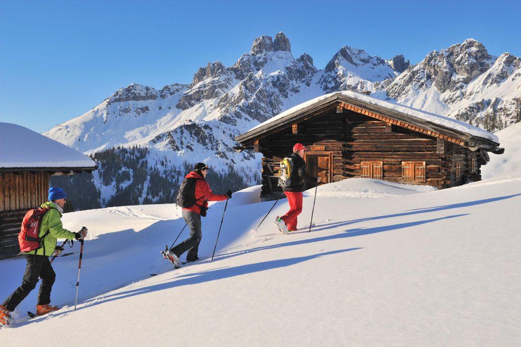 Skitouren in der Salzburger Sportwelt