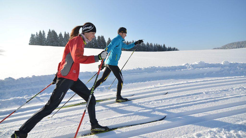 Langlaufen in Scheidegg © TVB Scheidegg