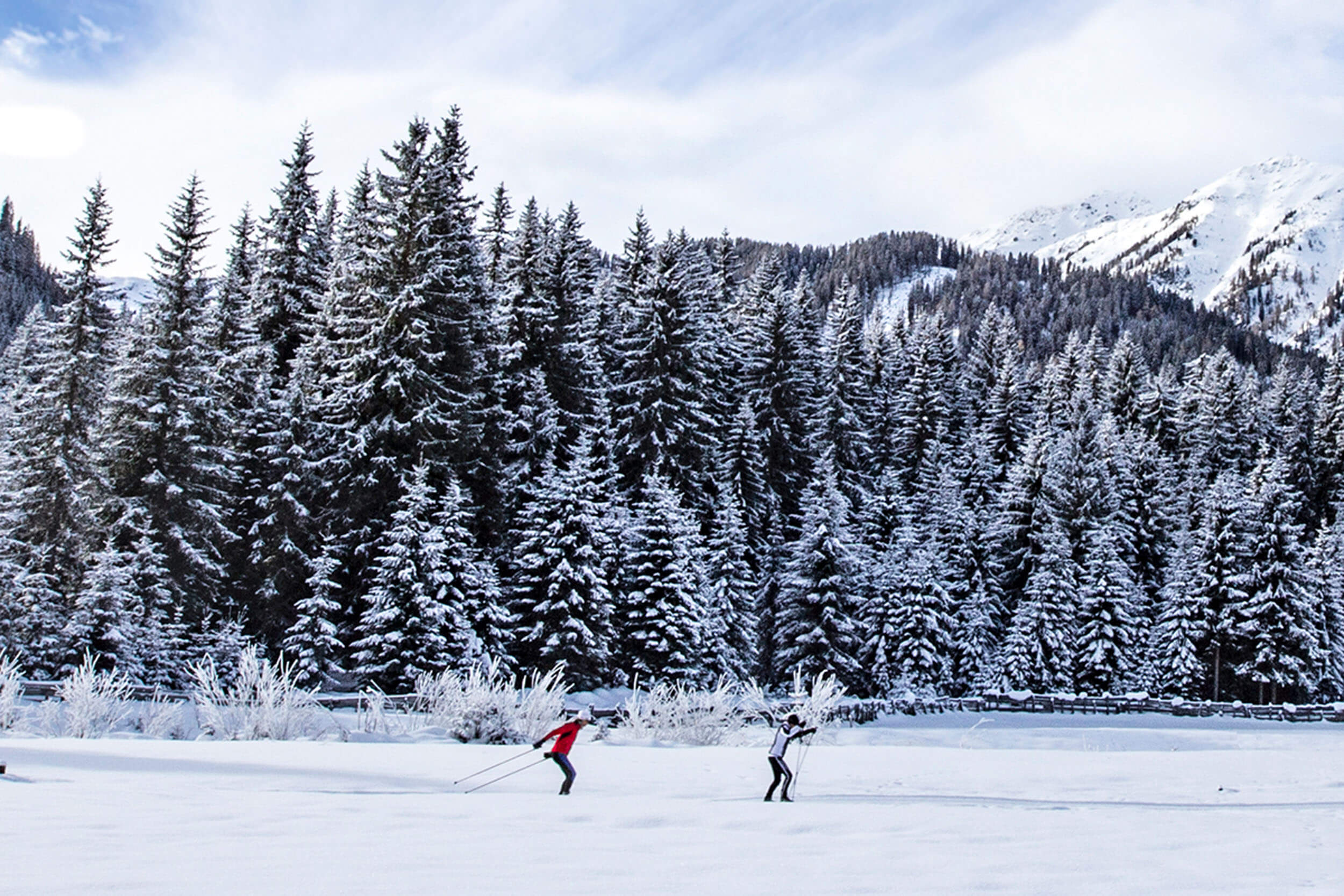 Langlaufen in Osttirol ©ChristianRiepler