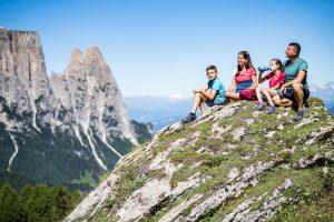 Wandern auf der Seiser Alm © Seiser Alm Marketing, Werner Dejori