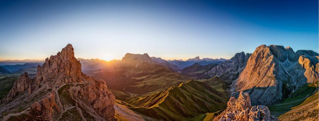 Sonnenaufgang Rosszahnscharte © Seiser Alm Marketing, Wolfgang Gafriller
